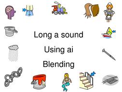 Long A Sound Blending