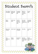First Week Back-to-School Activities