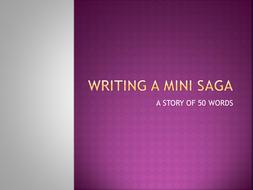 Writing Mini-Sagas