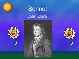 Sonnet - john clare