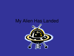 Alien story writing