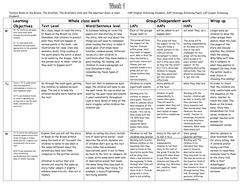 3-week scheme based on Julia Donaldson books