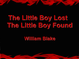 The_Little_Boy_Lost.ppt