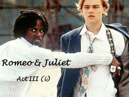 Romeo & Juliet Act 3 (i) Language Breakdown