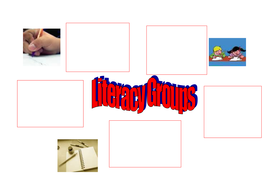 Literacy Group Template