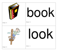 Jolly Phonics words and pictures for sorting (sets 1-5 words; sets 1-6 words)
