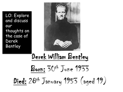 Derek Bentley Background