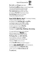 Dulce et Decorum Est poem: WORD POWER