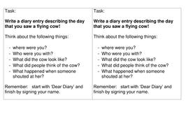Dear diary task high ability.doc