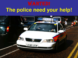 Wanted - How to put together a description..ppt