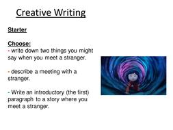 Coraline Narrative Writing - Tension Tutorial
