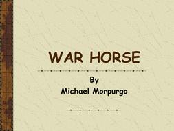 War Horse PowerPoint