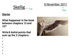 Skellig Lesson 13
