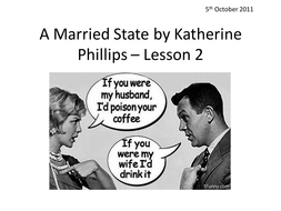 A Married State applied to Romeo and Juliet