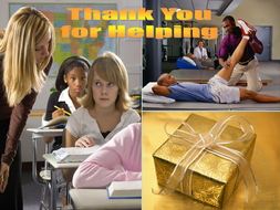 Letter Writing - Thank You!.ppt