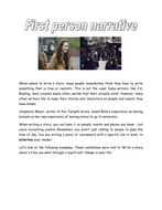 First_person_narrative[1].doc