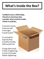 What's Inside the Box? (Poem)