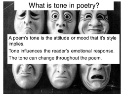 What is tone in poetry.ppt