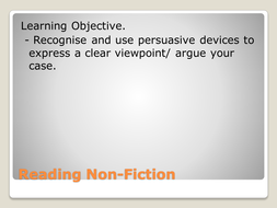 Reading_Non-Fiction_Persuasive_devices[1].ppt