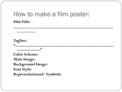 Yr8_How_to_make_a_film_poster.ppt