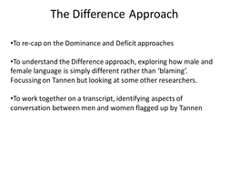 The_Difference_Approach[1].ppt