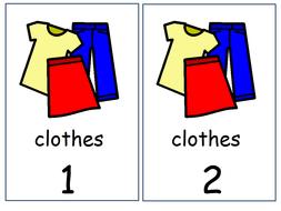Basic clothes vocabulary