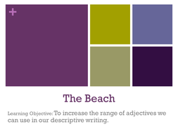 The Beach - Writing to Describe