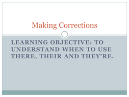 Lesson 3 - Using Antonyms