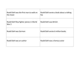 Roald Dahl True or False Game