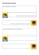 Writing an argument (direct speech)