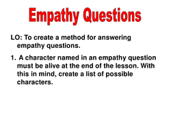 Empathy Questions.ppt