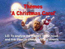 'A Christmas Carol' Themes reviewing
