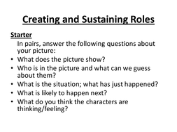Creating and Sustaining Roles.ppt