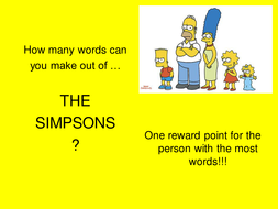 The Simpsons Lesson 1 - Chapters 1-4