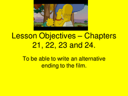 The Simpsons - Lesson 8 - Chapters 21;22;23;24