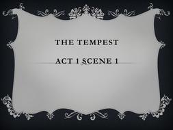 The Tempest - Act 1 Scene 1