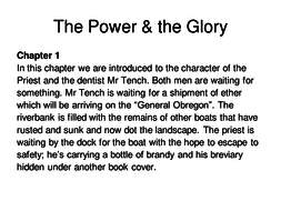 The_Power_&_the_Glory_Part_1_Chapter_1.ppt