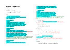Macbeth Act 2 Scene 3 Part 1.doc