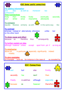 Connectives Sheet