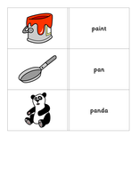 Phonics - Flash Cards with words for p.