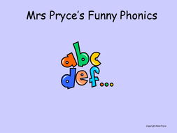 Mrs Pryce's phonics- cons digraphs for n and g.