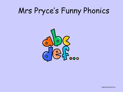 Mrs Pryce's phonics- set 3; segmenting.