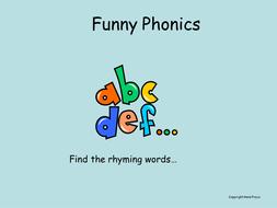 Phonics - graphemes (rhyming)