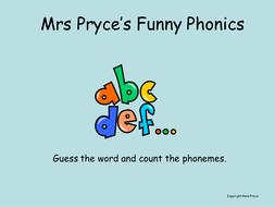 Mrs Pryce's phonics-ay; ai.