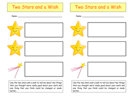 Two Stars and a Wish Self-Assess.doc