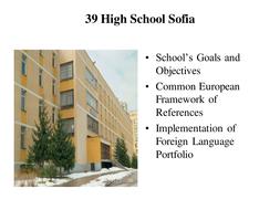 Foreign Language Portfolio PowerPoint