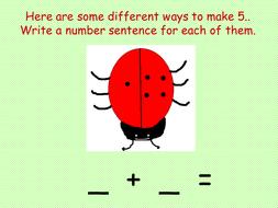 Ladybird Number Bonds