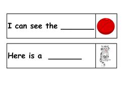 Finish the sentence (missing CVC words)