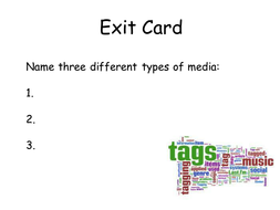 Exit Cards.ppt