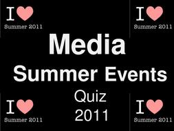 2011 Media summer quiz